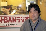 「加藤さんの朗読が心にしみる」というBAN-BANラジオの大竹ディレクター
