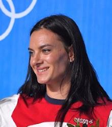 Yelena Isinbayeva (Mainichi)