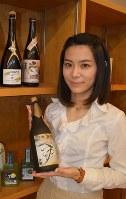 北西真由子さん=埼玉県上尾市の酒蔵「文楽」で