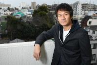 「二枚目? 確かにラブシーンのある役柄が多かったけどね。でもそんなイメージをも打ち破りたいんだ」=東京都渋谷区で2017年2月27日、根岸基弘撮影