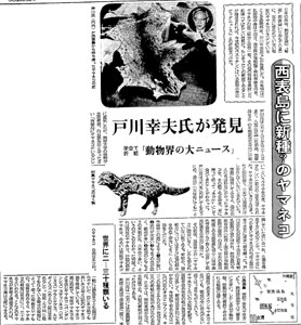 昭和40年3月15日の毎日新聞