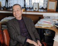 原田正純さん。水俣病患者の発掘と支援に生涯を捧げた=2011年11月、金澤稔撮影
