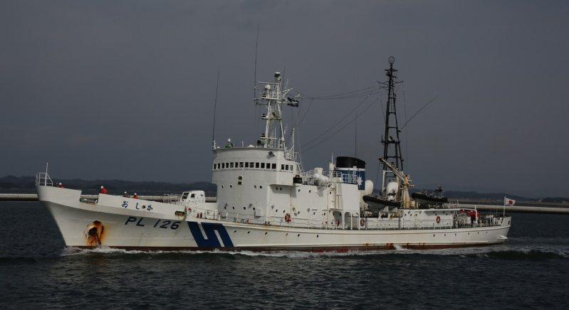 巡視船おしか:3月11日の津波乗...