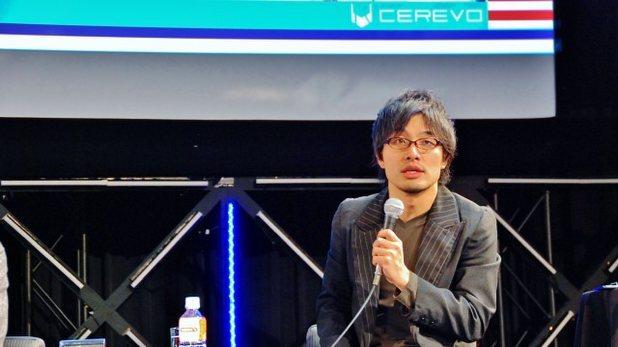 新経済サミット2015のセッションに登壇したCerevo岩佐琢磨社長