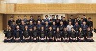 日本とチリの剣士が勢ぞろい