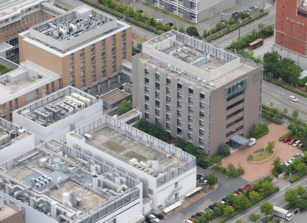 理化学研究所「発生・再生科学総合研究センター」の建物=神戸市中央区で2014年6月12日