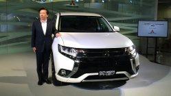 7月9日発売のプラグインハイブリッド車、新型「アウトランダーPHEV」