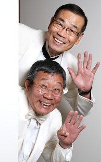 「『劇場で聴かせる最高の1本』にこだわりたい」と話す2人=大阪市中央区で2015年6月13日、宮武祐希撮影