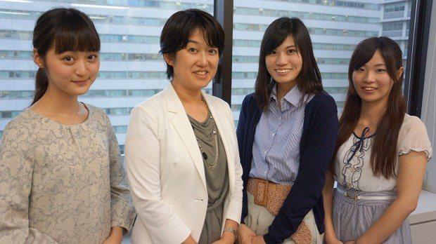 左から、上智大の小樋井さん、経産省の福地さん、東京理科大の小池さん、お茶の水女子大の中山さん