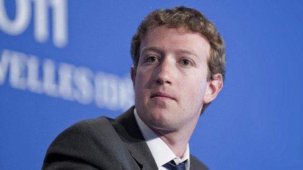 米フェイスブックのマーク・ザッカーバーグCEO