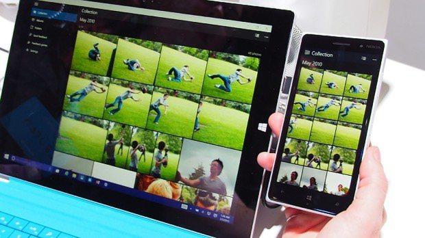 ウィンドウズ10モバイルでは、パソコン版のウィンドウズ10用に開発したアプリが、そのまま動作する