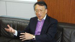 """""""中国経済の急減速に日本企業はどう対処すべきか""""をテーマに語る柯隆(か・りゅう)富士通総研主席研究員"""