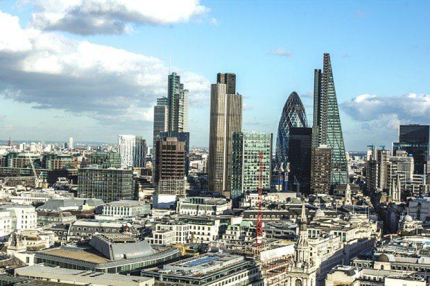 開発が進むロンドン市街地