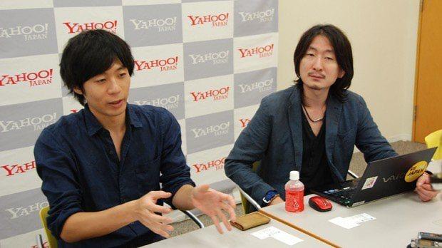 ヤフーニュース トピックス編集部リーダー伊藤儀雄氏(左)と、同アプリ サービスマネージャーの河野清宣氏