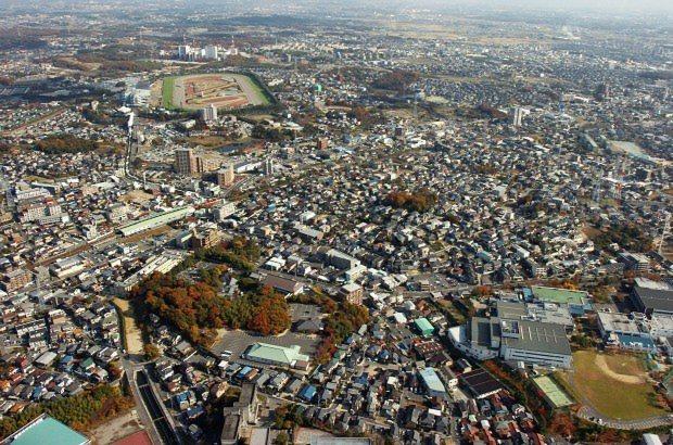 桶狭間から沓掛城方向を望む=愛知県豊明市で2007年12月2日、鮫島弘樹撮影