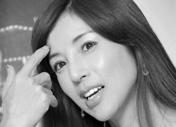 川島なお美さん=2010年10月撮影