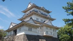 戦国大名・北条氏の5代にわたる居城として知られる小田原城=2010年8月30日、澤晴夫撮影
