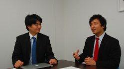未来機械・三宅徹社長(左)とリバネス・丸幸弘CEO