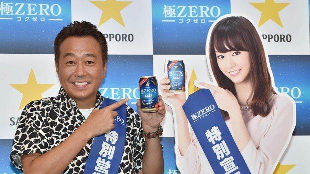 サッポロ「極ZERO」再発売のPRイベント=2014年7月