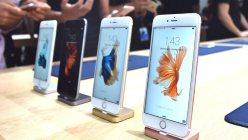 アップルの新型スマートフォン「iPhone 6s」=米サンフランシスコで2015年9月9日、清水憲司撮影