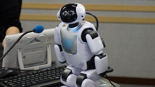自立型コミュニケーションロボット「Palmi(パルミー)」