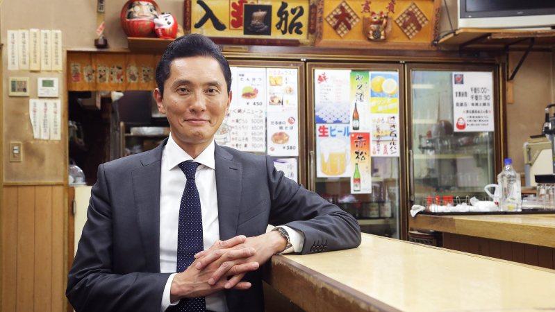 ドラマ版「孤独のグルメ」(テレビ東京)で主人公・井之頭五郎を演じる松重豊さん=テレビ東京提供