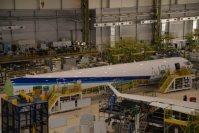 2007年6月に公開された次世代の国産旅客機「MRJ」のイラスト=三菱重工業提供