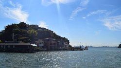 高級住宅街「ベルベディア・タイバーアン」からは、サンフランシスコの摩天楼が望める=2015年9月10日、清水憲司撮影