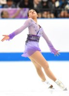 Figure skater Mao Asada performs at the 2015 Japan Open figure skating competition at Saitama Super Arena, on Oct. 3, 2015. (Mainichi)