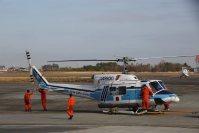 =海上保安庁仙台航空基地で2015年12月2日、米田堅持撮影
