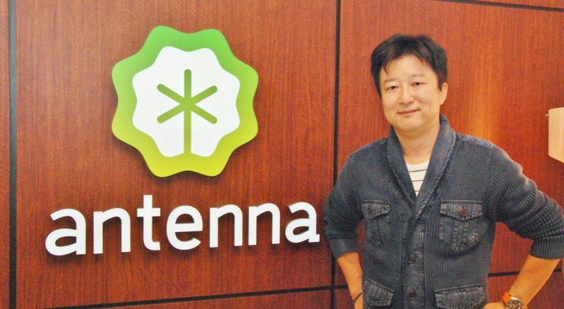 アンテナを運営するグライダーアソシエイツの杉本哲哉代表取締役社長CEO