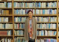 =東京都武蔵野市の藤村女子中・高等学校で、関口純撮影