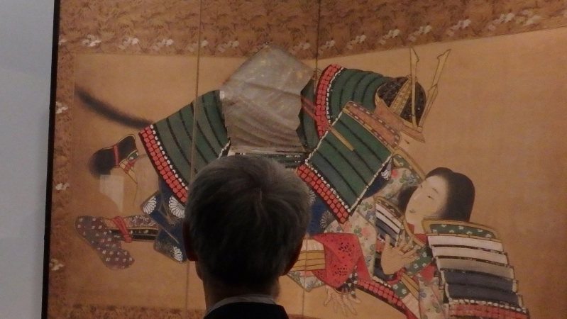 春画展の会場=東京都文京区の永青文庫で、広瀬登撮影