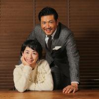阿川佐和子さん(左)と別所哲也さん=長谷川直亮撮影