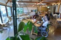 戦後、病院で亡くなる人が増えたが、最後の時を過ごす場所は多様化している=千葉県内のホスピスで宮間俊樹撮影