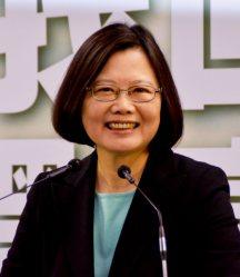 台湾・民進党の蔡英文主席