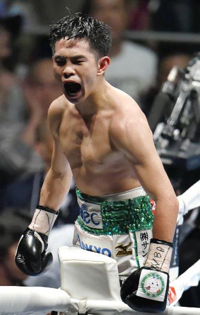 ボクシング:フライ級井岡一翔 ...