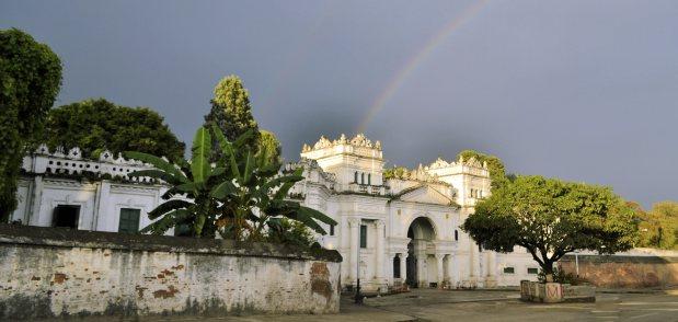 2001年にネパール王族殺害事件が起こったナラヤンヒティ王宮
