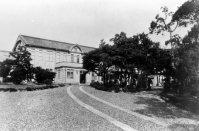 長崎医科大学正門(現・長崎大学)=長崎市で1934年03月撮影