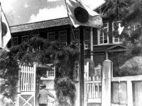 姫路工業大学(現・兵庫県立大学)の開学記念祭=兵庫県姫路市で1949年4月撮影