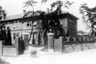 西南学院高等学部(現・西南学院大学)=福岡市で1928年3月15日撮影