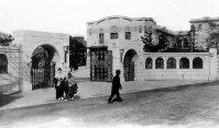 九州帝大医学部(現・九州大学医学部)=福岡市で1940年3月撮影