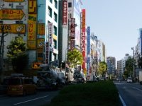 早稲田通り=小座野容斉撮影