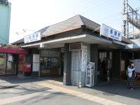 近鉄大阪線長瀬駅が最寄り駅=中根正義撮影