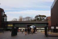 東京都美術館の正面入り口=江刺弘子撮影