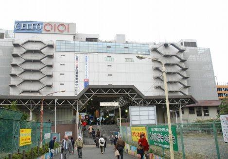 最寄り駅のJR国分寺駅。これは北口。南口は東京経済大や東京農工大(農)の学生が利用=松沢敬介撮影