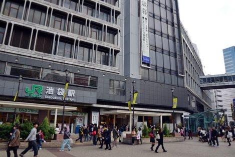 立教大学の池袋キャンパスの最寄駅は、池袋駅西口=石川直人撮影