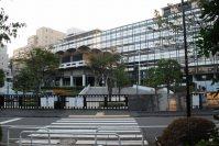法政大学市ヶ谷キャンパスの全景=小島昇撮影