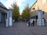 首都大学東京の正門=仲村隆撮影