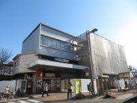 北浦和駅全景。ちょうど工事中=浜田和子撮影